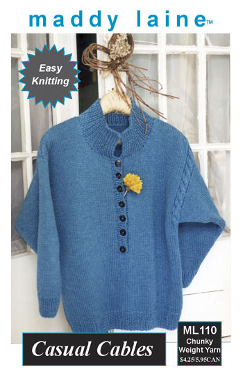Kids Knit Pullover Knitting Pattern | Red Heart